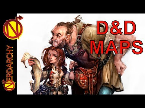 Using Maps in Your D&D Campaign| Game Master TIps