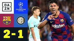 Suarez doppelt! Barca siegt: Barcelona - Inter 2:1 | UEFA Champions League | DAZN Highlights