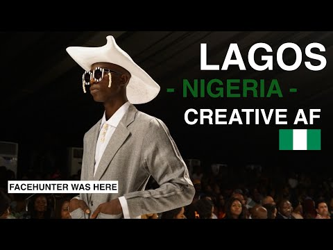 Lagos (Nigeria), creative AF!