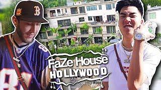 RICE GUM AND FAZE BANKS VISIT FAZE HOUSE HOLLYWOOD!!
