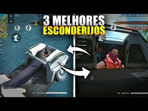 PEGUE MESTRE HOJE! 3 LUGARES MAS SECRETOS DE TODOS. FREE-FIRE