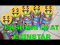 CASHING in Coins at Coinstar Machine - How much MONEY will we get???
