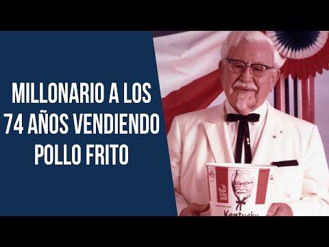 La historia del Coronel Sanders, fundador de KFC 🍗
