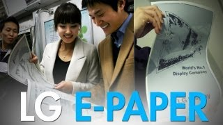 Would You Buy LG's E-Paper?