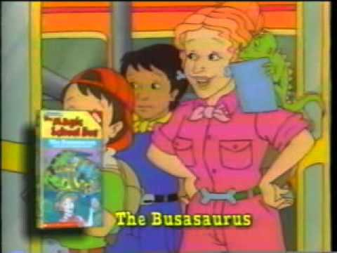 Opening To The Magic School Bus:Out Of This World 1997 VHS