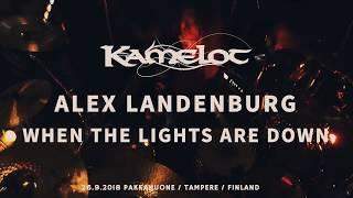Kamelot Alex Landenburg Drumcam 'When The Lights Are Down'  26.9.2018 Tampere, Finland