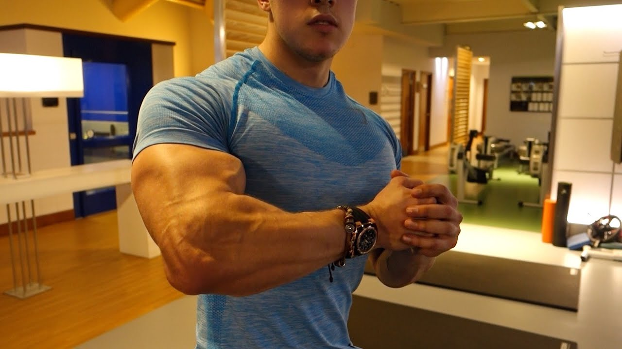 Arm Workout Biceps And Triceps Natural Teen Bodybuilder