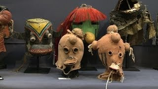 Controversial sale of US tribal masks held in Paris