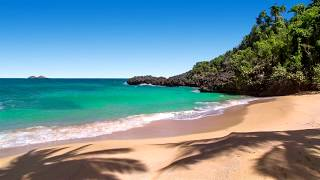 8 Hours of Relaxing Oceans Sounds at Las Canas Beach - Waves for Study, Meditation, Sleeping