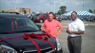 Walt Curtis—With the 2011 Equinox he is picking up for his son