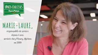 Marie-Laure vous présente le métier de responsable de service - octobre 2018