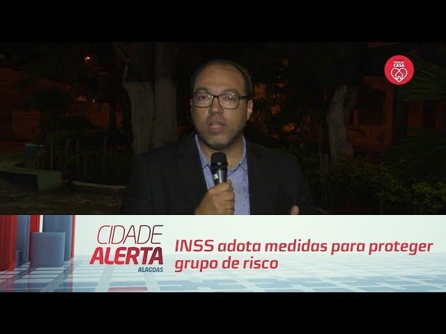 INSS adota medidas para proteger grupo de risco mais vulnerável ao coronavírus   Cidade Alerta