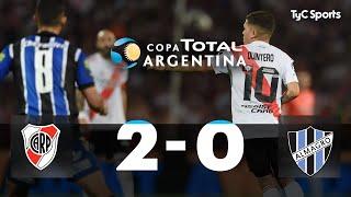 River 2-0 Almagro | 4tos de Final | Copa Argentina 2019