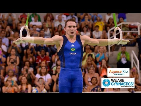 HIGHLIGHTS - 2016 Olympic Test Event, Rio (BRA), Men's Individual Event Finals