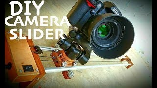 How to make a Portable Camera Slider Under 10$