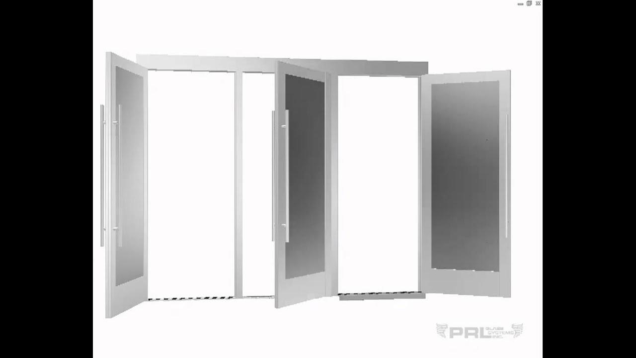Full Frame Aluminum Entrance Doors - YouTube