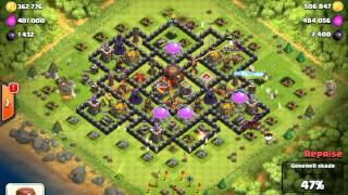 Clash Of Clans - 850k Gold Raid