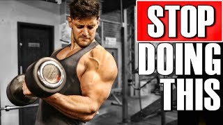 One of Lex Fitness's most viewed videos: STOP TRAINING YOUR ARMS LIKE THIS! Get BIGGER ARMS | Add Muscle Faster!