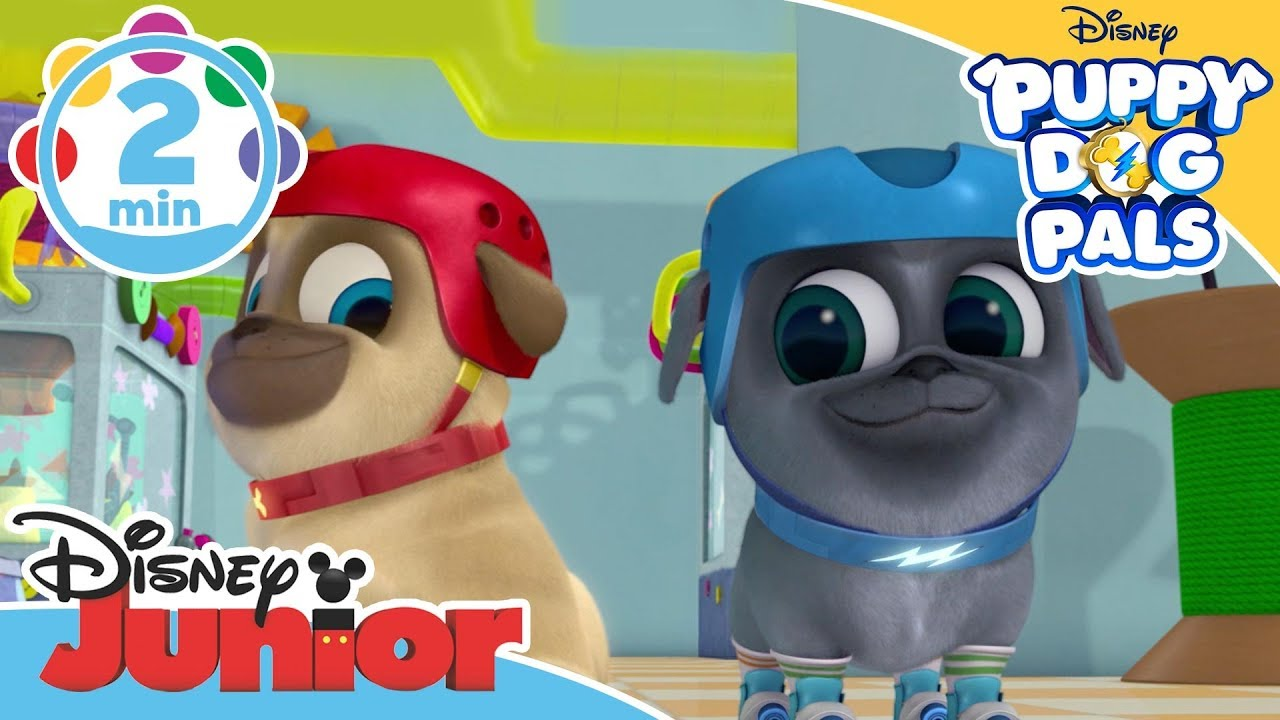 Puppy Dog Pals Design A Dog Song Disney Junior Uk Youtube