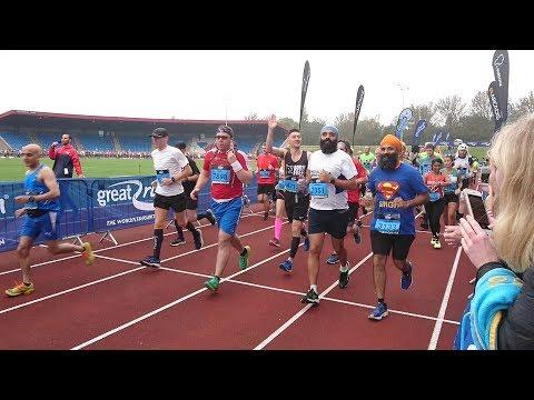Birmingham International Marathon 2017 - blue wave - Part 1