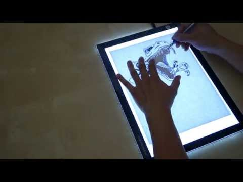 Dbpower LED Stencil Board Tracing Light Box REVIEW