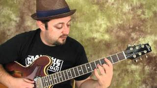 power chord lesson - easy electric guitar lesson