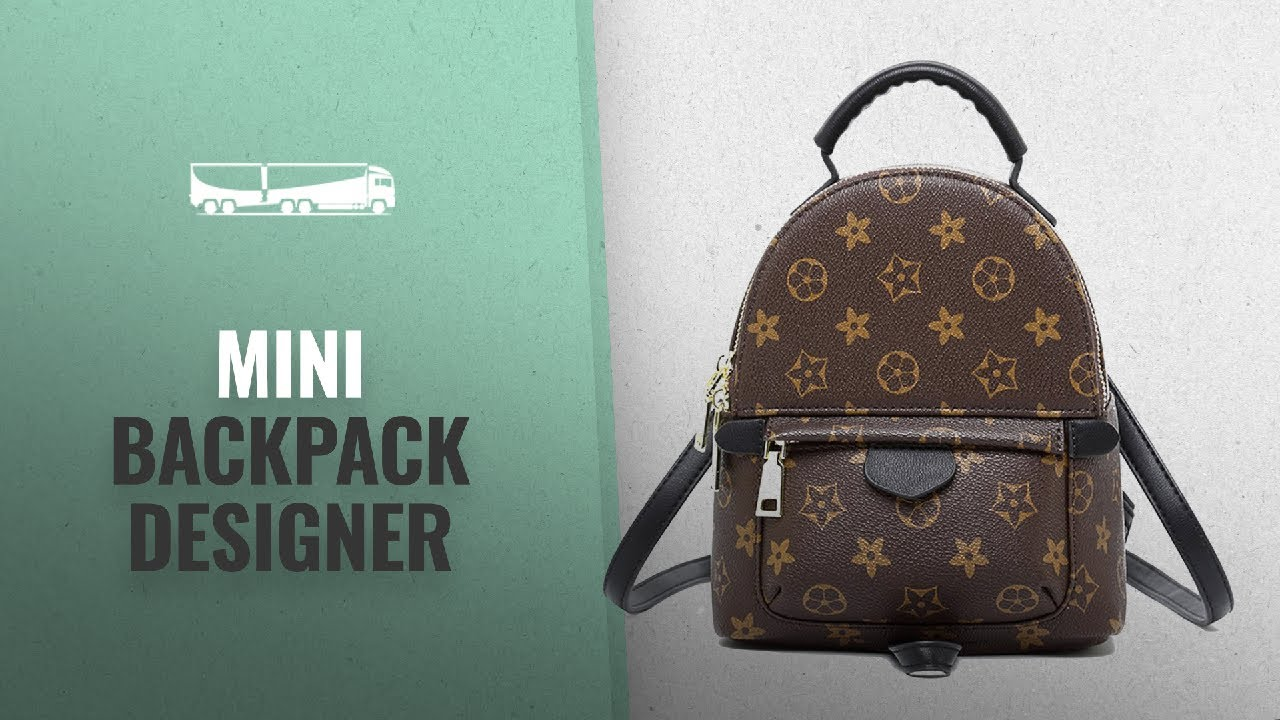 daf7dbb10 Top 10 Mini Backpack Designer [2018]: Olyphy Designer Mini Leather ...
