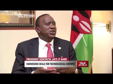 President Uhuru Kenyatta interview on talk africa with Beatrice Marshall