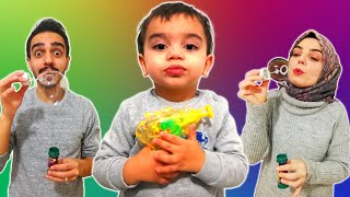 Yağız Baloncuk Makinesi ile Oynadı - Çocuk Videosu YED SHOW