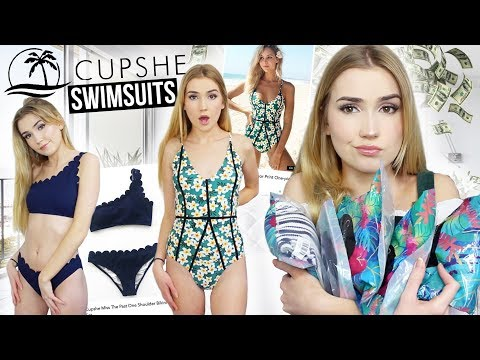 TRYING CUPSHE SWIMSUITS!! | Are They Any Good?