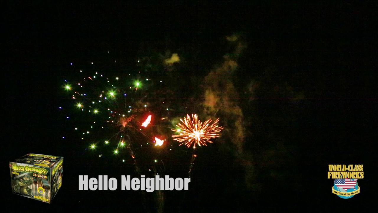 Hello Neighbor - World Class Fireworks - YouTube