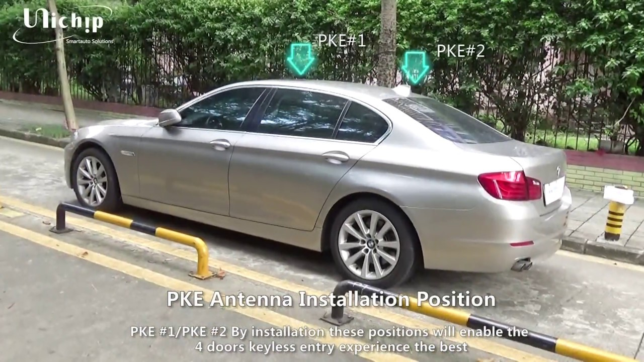 How to install BMW Keyless Entry for F10 530 5series? - YouTube