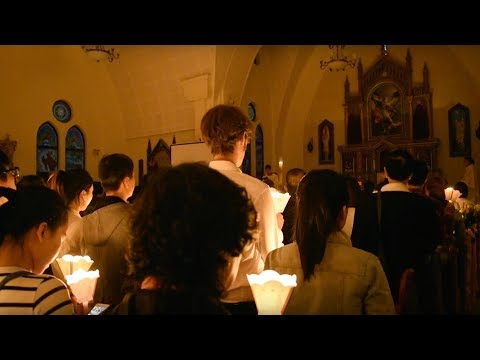 Easter Sunday with Catholics in Shanghai