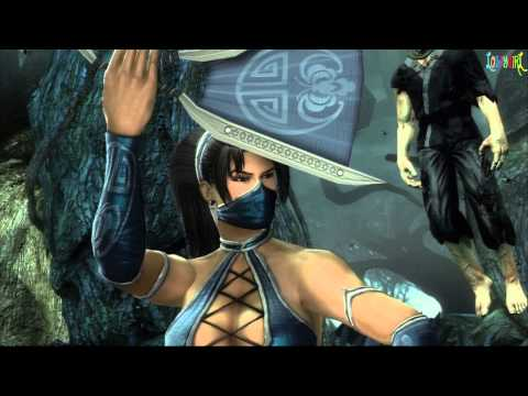 Mortal Kombat Kitana Classic Ladder Walkthrough and Ending