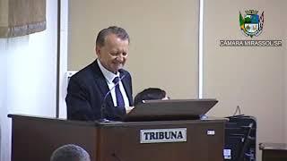 1ª Sessão Ordinária  - Vereador Pinatto