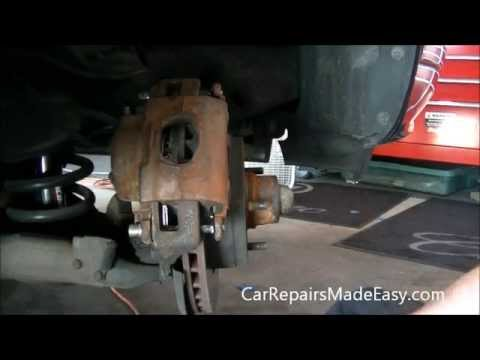 Impala Caprice Front Brake Pad Replacement Procedure