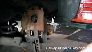 Impala Caprice Front Brake Pad Replacement Procedure