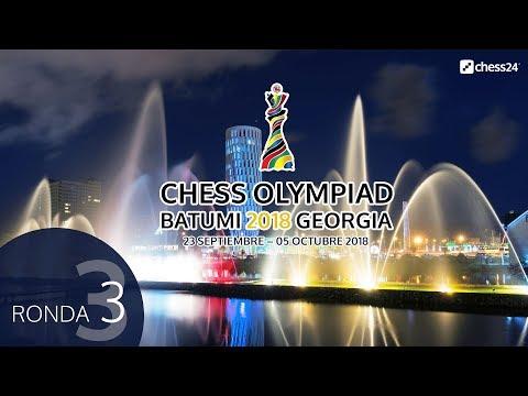 Olimpiada de ajedrez 2018 desde Batumi (3)