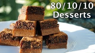 80/10/10 Desserts (Raw Vegan Recipes)