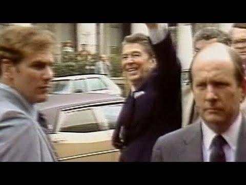Cảnh Tổng thống Ronald Reagan bị ám sát ngày 30/03/1981