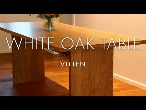 W26_Making White Oak Table