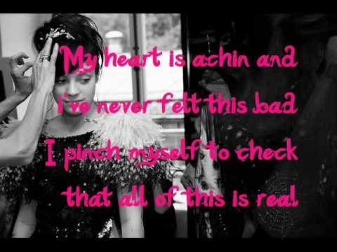 Absolutely Nothing Lily Allen (Lyrics)