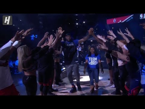 Team LeBron - Players Introductions - 2020 NBA All-Star Practice