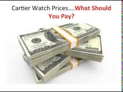The Best Cartier Watches Prices Available (2013)-Do Cartier Watches Prices Matter?