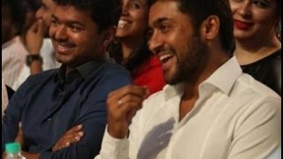 Surya Shares about Friendship with Vijay!...