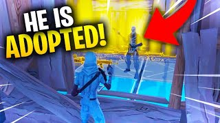 Adopted Scammer Gets Scammed For Entire Inventory! In Fortnite Save The World Pve