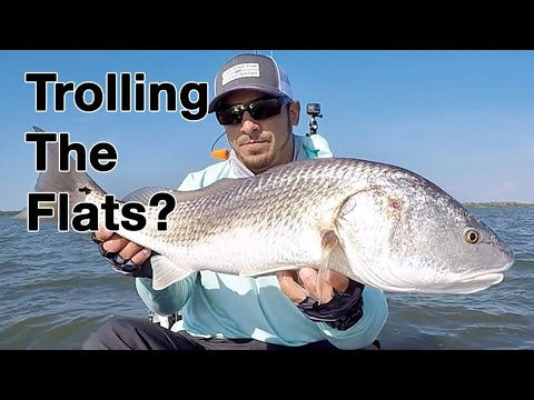 How To Troll For Redfish (On The Flats)!!!!