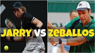 Nicolas Jarry vs Horacio Zeballos | SF Sao Paulo 2018 Highlights HD
