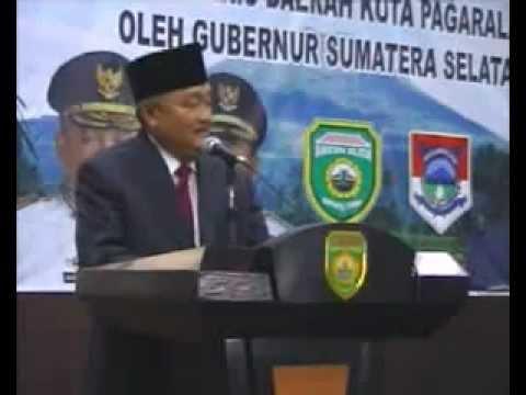 Jelang Pilkada DKI - Alex Noerdin Minta Dukungan Warga Pagaralam Di Jakarta