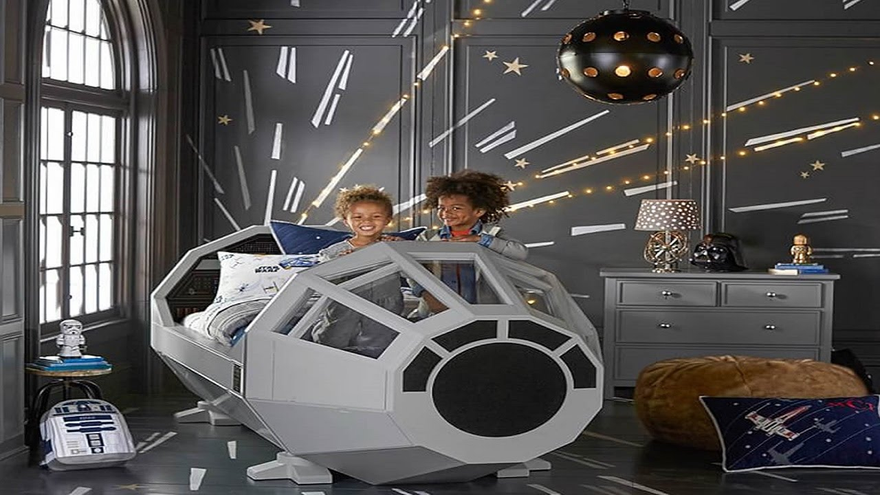 Fly Off To Dream Land In This Millennium Falcon Bed Youtube